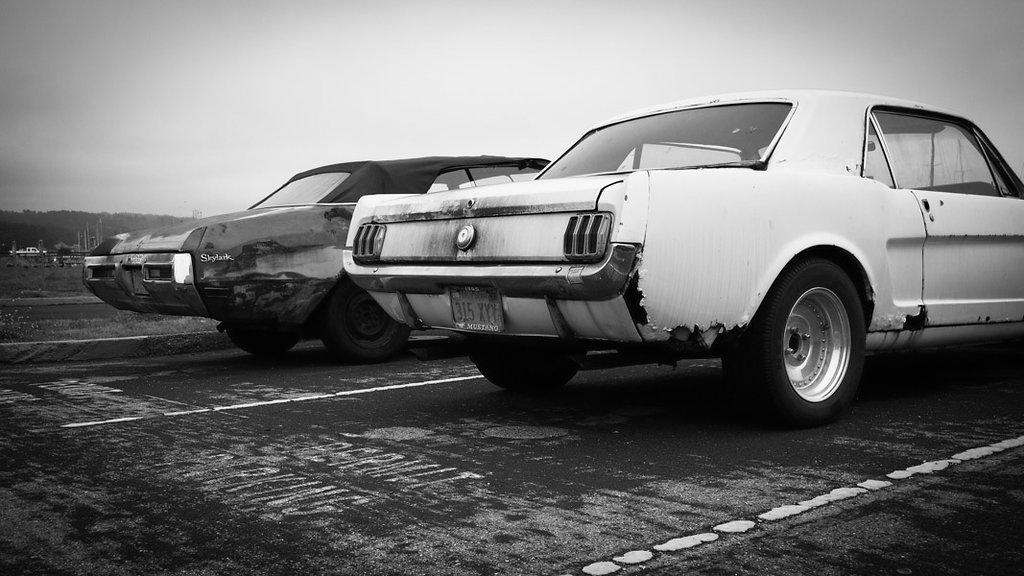 Buick Skylark & Ford Mustang